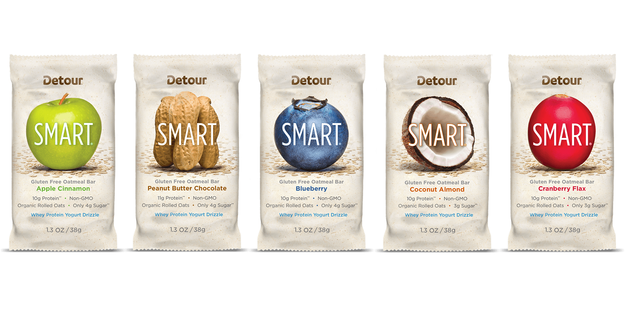 Detour Bar SMART wrap packaging